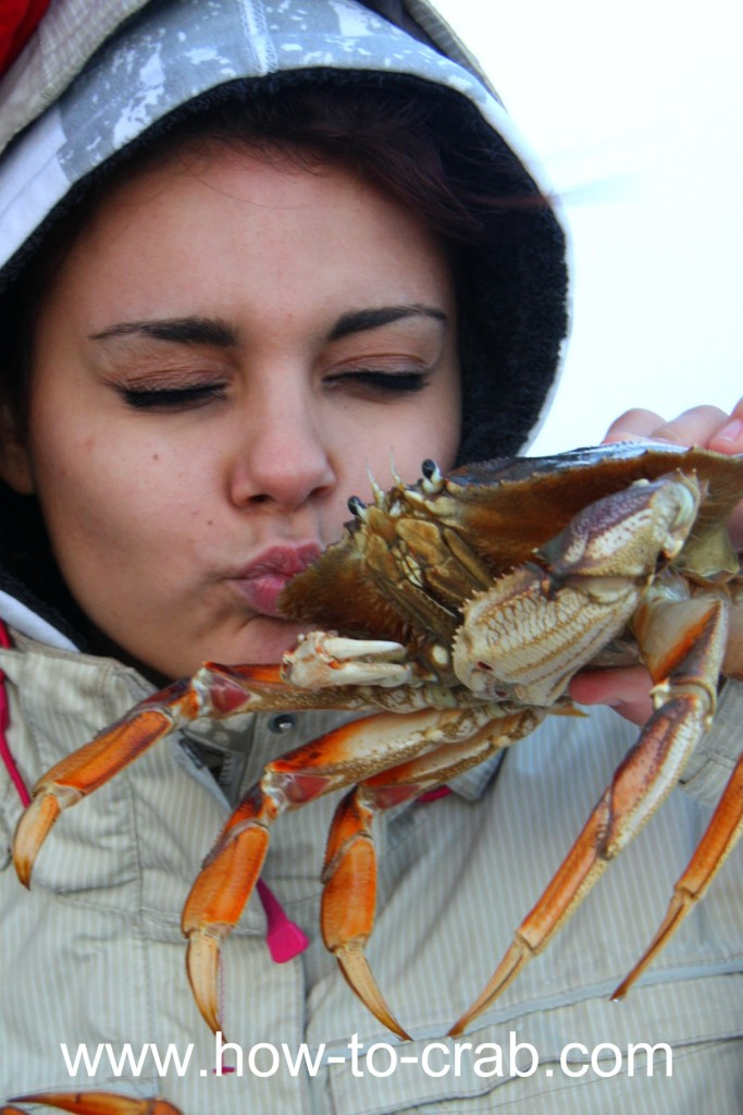 Crab fishing and loving Dungeness crabs